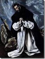 El Greco's St Dominic in Prayer