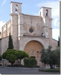 Church of SanGines in Guadalajara, Spain.