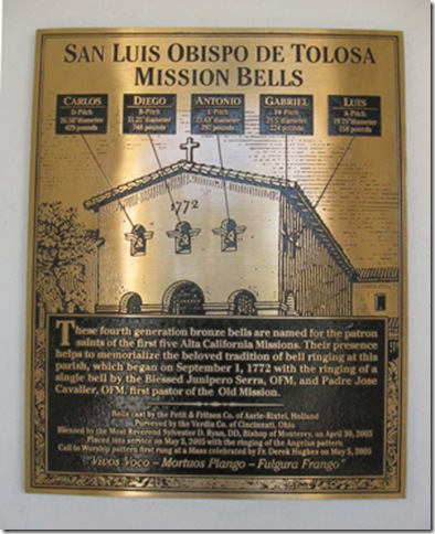 Information on new bells.