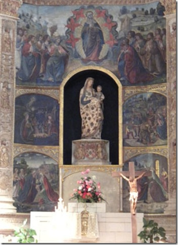 FranciscanChurchAltar